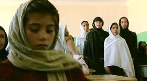 Školačky v Afghánistánu