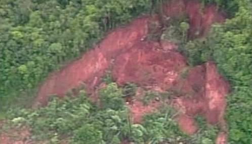 Sesuv půdy v Brazílii