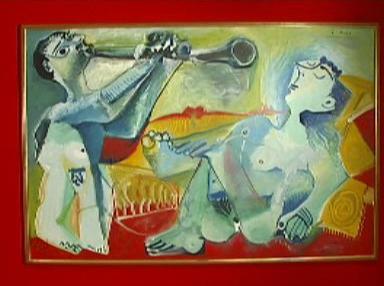 Pablo Picasso: Das Morgenständchen