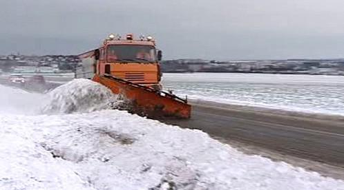 Zimní údržba silnic