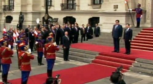 Dmitrij Medveděv na návštěvě Latinské Ameriky