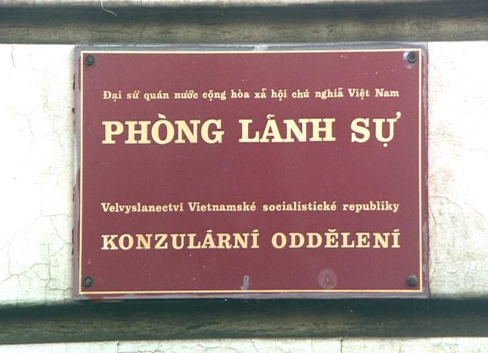 Vietnamské velvyslanectví v ČR