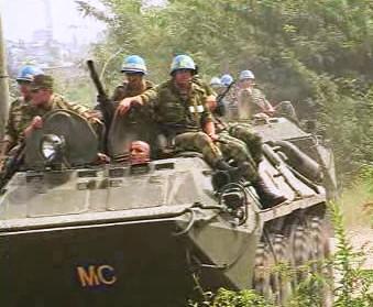 Ruské jednotky v Gruzii