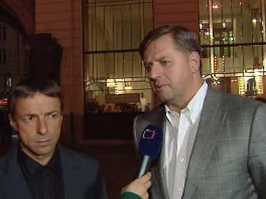 Pavel Bém a Petr Bendl