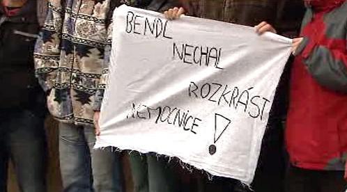 Demonstrace proti ODS