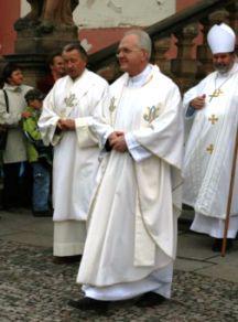 Jan Baxant v popředí
