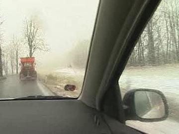 Zima na českých silnicích