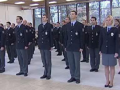 Novopečení policisté