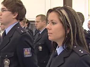 Novopečená policistka