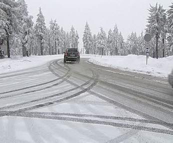 Silnice v Krušných horách