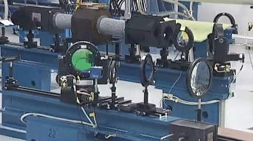 Výkonný laser PALS
