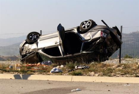 Tragická havárie na chorvatské dálnici A1