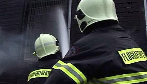 Němečtí letištní hasiči
