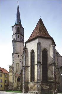 Františkánský klášter v Chebu