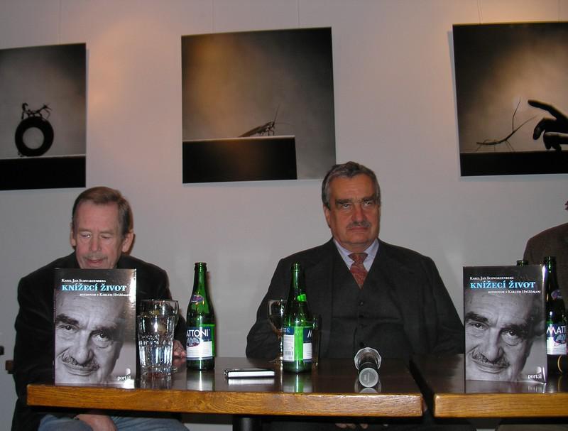 Václav Havel a Karel Schwarzenberg
