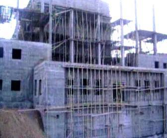 Budované syrské jaderné zařízení