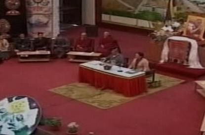 Jednání tibetských exulantů