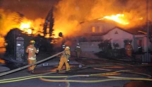 Požár v Los Angeles