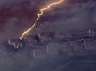 Oheň ohrožuje Orange County