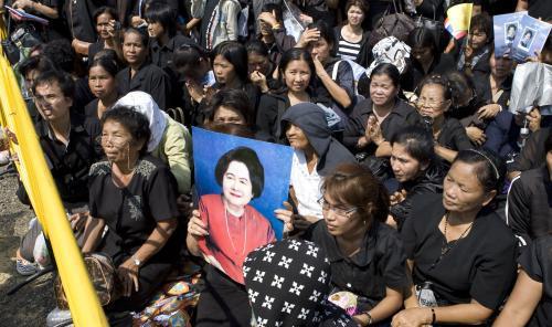 Pohřební průvod thajské princezny Galjani
