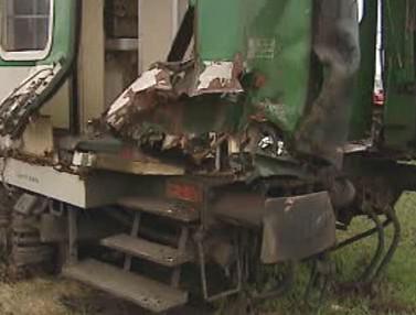 Poškozený vlak