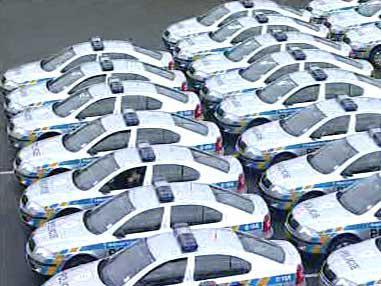 Nové policejní automobily