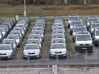 Nové policejní vozy