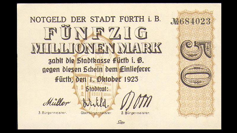 Hyperinflace v Německu