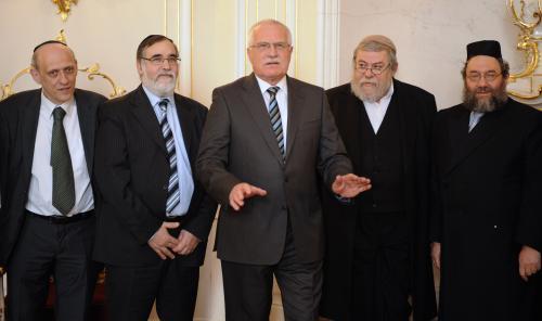 Klaus a rabíni
