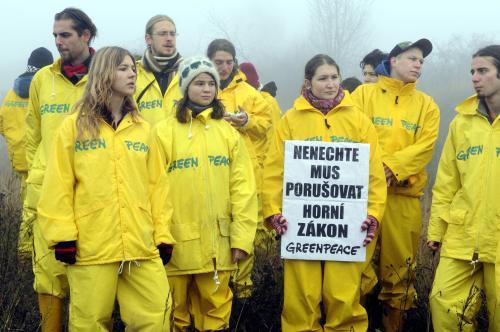Aktivisté Greenpeace
