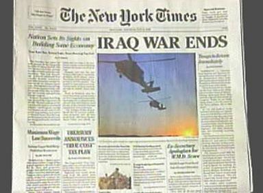 Falešné vydání deníku New York Times
