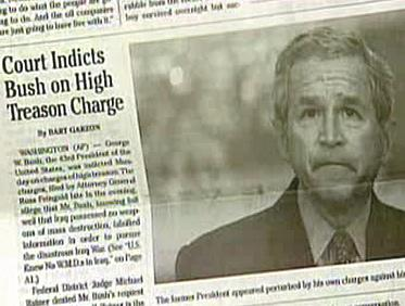 Falešný výtisk New York Times