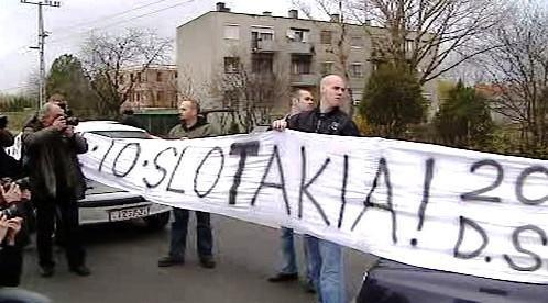 Blokáda na maďarsko-slovenské hranici