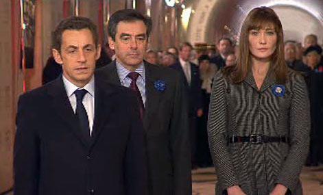 Nicolas Sarkozy s chotí