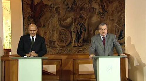 Muhammad Baradej a Karel Schwarzenberg