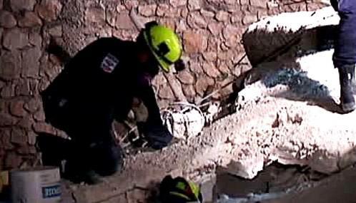 Záchranářské práce