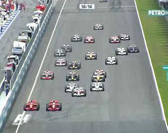 Start Formule 1