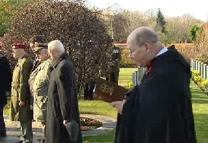 Pietní akt na Olšanských hřbitovech