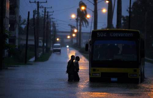 Hurikán Paloma zasáhl Kubu