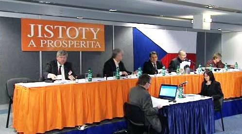 Tisková konference ÚVV ČSSD