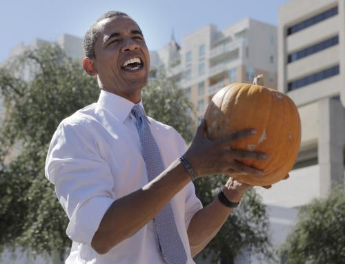 Barack Obama se chystá na Halloween