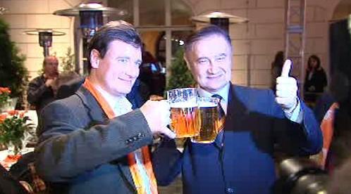David Rath po vítězství v krajských volbách