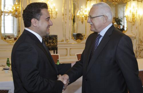 Ali Babacan a Václav Klaus