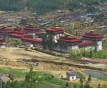 Palác bhútánského krále