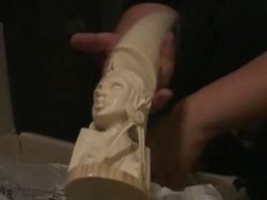 Soška ze slonoviny