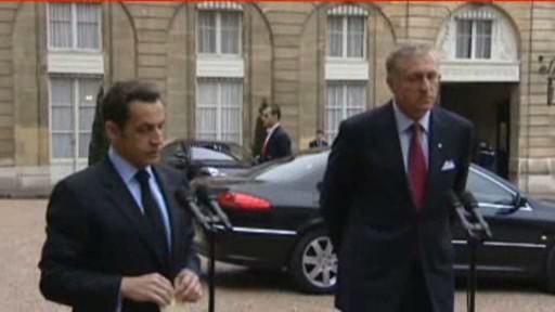 Sarkozy a Topolánek