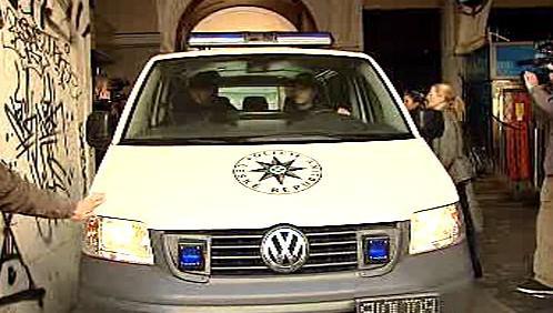 Policie odváží Bohumíra Ďurička