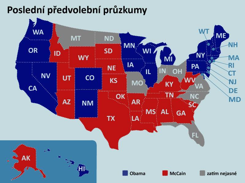 Poslední předvolební průzkumy