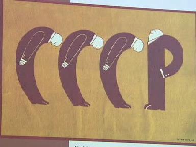 Historie Lotyšska v karikaturách