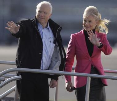 John a Cindy McCainovi